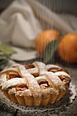 Sicilian orange tart (Italy, Sicily)