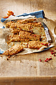 Breakfast bars with goji berries