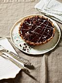 Chocolate and Coffee Parfait Tarts