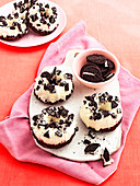 Cookies and cream doughnuts