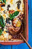 Zucchini Parmigiana (zucchini bake)