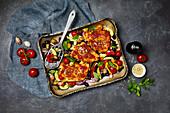 Fisch mit provenzalischem Gemüse