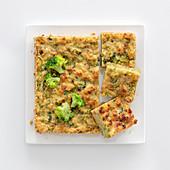 Brot-Brokkoli-Schnitten
