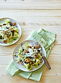 Fennel and grape salad with lemon vinaigrette