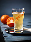 Tangerine Royale cocktail