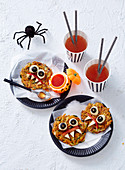 Freaky Fritters for Halloween