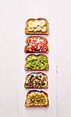 Five kind of revamped Toast