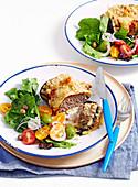 Eggplant Parmigiana Meatloaves