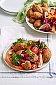 Turkish kibbeh salad
