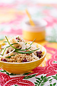 Quinoa salad with fennel