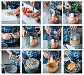 Pesto alla trapanese zu Pizzoccheri zubereiten