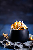 Savoury homemade chilli and honey popcorn