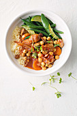 Pork and chickpea stew