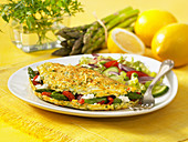 Herb Goat Cheese Omelet