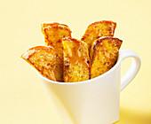 French-Toast-Sticks mit Ahornsirup