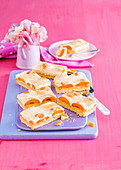 Apricot and Sour Cream Slice