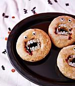 Vampire Doughnuts for Halloween