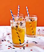 Spider Sodas for Halloween