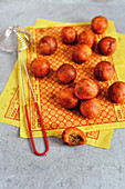 Stuffed sweet potato balls (Singapore)