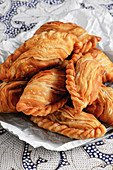 Spiral Curry Puffs – deep-fried pastries (Singapore)