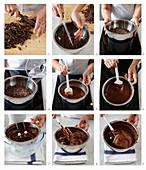 Schokoladenmousse zubereiten