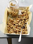 Grain-free crunchy granola