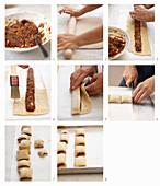 Feigenkekse (Biscotti di fichi) backen