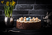 Simnel cake (English Easter fruit cake)
