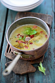 Indian-English Mulligatawny soup