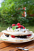 Berries Cream Pavlova
