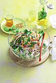 Vietnamese chicken noodle salad