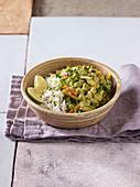 Grünes Curry mit Frühlingsgemüse