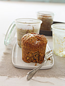 Möhren-Nuss-Kuchen aus dem Glas