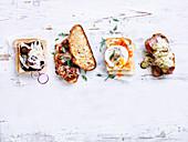 4 Ways with Toasties