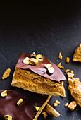 Chocolate honeycombs