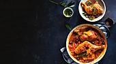 Spanish chicken with picada