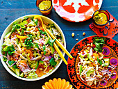 Yucatan-style chicken salad
