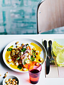 Lima-style ceviche, Seafood, Fish