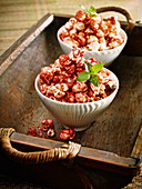 Spiced popcorn with Ras el Hanout