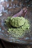Matcha-Teepulver