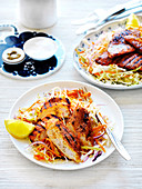 Portuguese Chicken Fillet with coleslaw