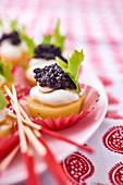 Caviar appetisers