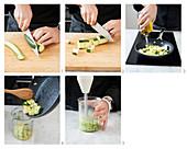 Cremige Zucchinisauce zubereiten