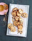 Cookies mit Schokodrops (Low Carb)