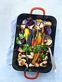Gratinated vegetables