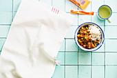 Red lentil masala to take away