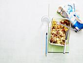 Veggie Swabian ravioli bake to take away