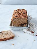 Sugar-free vegan fruit bread