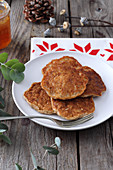 Gluten-free Chinese five-spice pancakes for Christmas