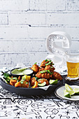 Jalapeno and corn fritters